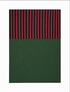 Calvin Klein Home Nashville Area Rug, HUNTER GREEN/MAGENTA/BLACK, 4' x 6'