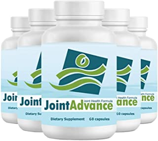 Joint Advance - Healthy Joints Supplement, New and Improved Formula- 5 Pack