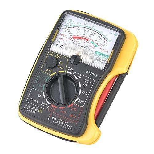 Multímetro analógico profesional estándar Multímetro Voltímetro Resistencia Alta sensibilidad Mini amperímetro para...