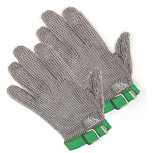 Schnittfeste Handschuhe 1 Paar 304L Cut Cut Resistant Handschuhe, Edelstahl Sicherheitsarbeiten Handschuhe, Anti-Schneidhandschuhe Für Kocharbeiten Im Freien (Size : Large)