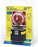 BLUE SEA SYSTEMS Dual Circuit Plus Battery Switch w/ ACR, MFG# 7650, Dual Circuit Plus Battery Switch w/ACR, Inc 5511e Dual Circuit Plus Battery Switch & 7610 Automatic Charging Relay / BS-7650 /