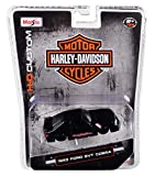 Maisto 1993 Ford SVT Cobra Harley Davidson 1/64 Die-Cast Model Car 15414-HD2, Matte Black