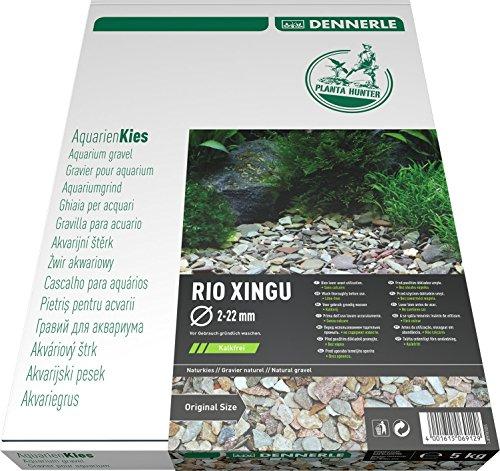 Dennerle Naturkies Plantahunter Rio Xingu 2-22 mm - Aquarienkies, Bodengrund fürs Aquarium
