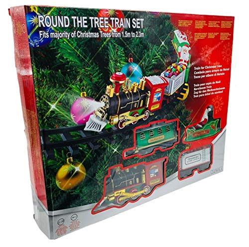 Trenino Elettrico da mettere sullAlbero di Natale
