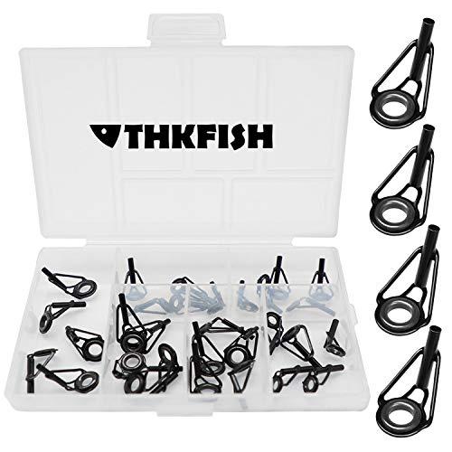 THKFISH Kit de reparación de cañas de Pesca Kit de reparación de...