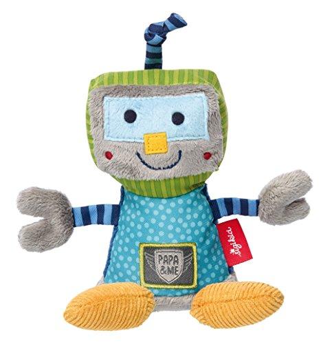 sigikid, Jungen, Rassel Roboter, Papa und Me, Mehrfarbig, 41675
