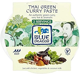 Blue Dragon Thai Green Curry Paste Pot 50g - Pack of 6