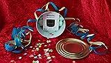 Idée cadeau : Ninetec NT.BS.BB – Enceinte basse Bluetooth BeatBlaster – Emballé dans une boîte de conservation (pour ouvrir avec un ouvre-boîte traditionnel) – Micro SD AUX mains libres – Bleu