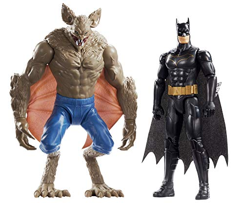DC BATMAN MISSIONS™ Pack de 2 figuras Batman y Manbat (Mattel FVM63)