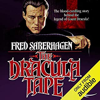 The Dracula Tape audiobook cover art