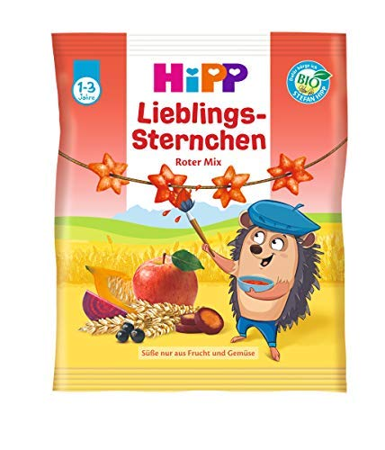 Hipp Lieblings-Sternchen, Roter mix, 30g