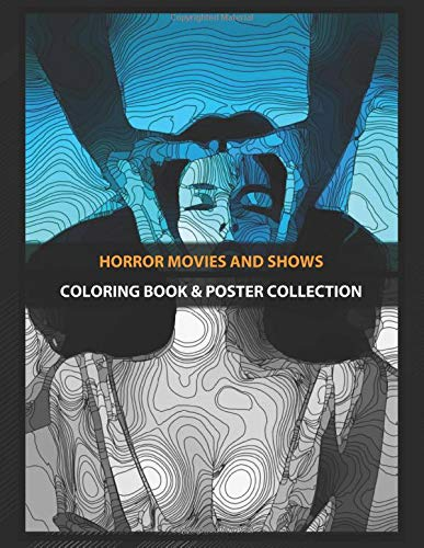 Coloring Book & Poster Collection: Horror Movies And Shows Deadly Blessing 1981 Horror Movie Movies