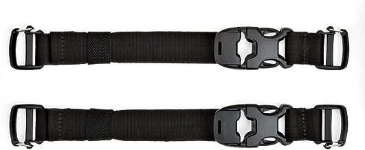 Moca Factory en m/étal argent/é Kaki Noir militaire de qualit/é Cobra tactique Boucle pour collier pour chien Sacs de voyage DIY Ceinture V/êtements Accessoires 45MM Width noir