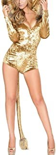 LUCKLOVELL Sexy Women Animal Masquerade Cosplay Party Lion Costume