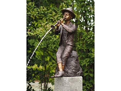 IDYL Bronze Figur Flötenspieler