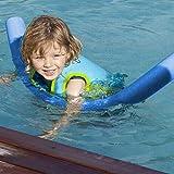 GoodKE Práctico portátil de natación Flotante Aprender Espuma Piscina Agua Flotar Woggle Churros de flotación