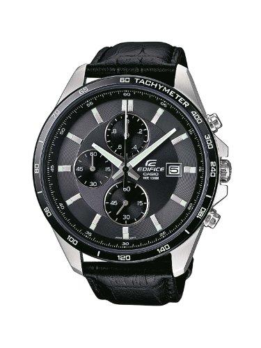 Casio Reloj Analogico para Hombre de Cuarzo con Correa en Cuero EFR-512L-8AVEF