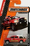 TOYOTA TACOMA Matchbox 2014 MBX Heroic Rescue Red Toyota Tacoma 1:64 Scale Collectible Die Cast Metal Toy Car Model