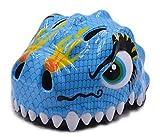 Dhmm123 El Casco de luz Protege Casco Infantil Casco de la Bicicleta de Seguridad for niños Casco de Montar niño Casco de Dinosaurio de los niños Ligero y cómodo para Adultos y niños. (Color : Blue)