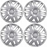 Motorup America Auto Hubcap Set of 4, 16 inch Wheel Covers - Fits 04-10 Toyota Sienna