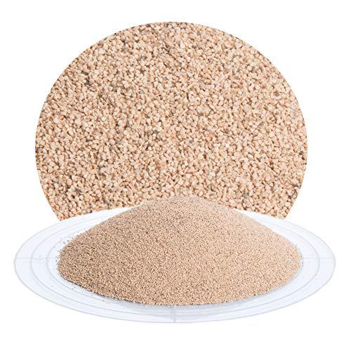 25 kg Nussschalengranulat Strahlmittel 200-450 µm von Schicker Mineral für eine schonende Oberflächenbehandlung