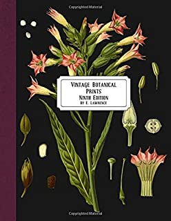 Vintage Botanical Prints: Ninth Edition