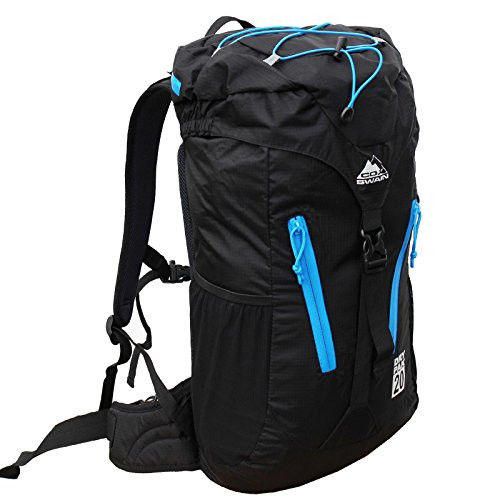 Cox Swain Rucksack Light Weight 20 - Wasserfest, Colour: Black/Blue