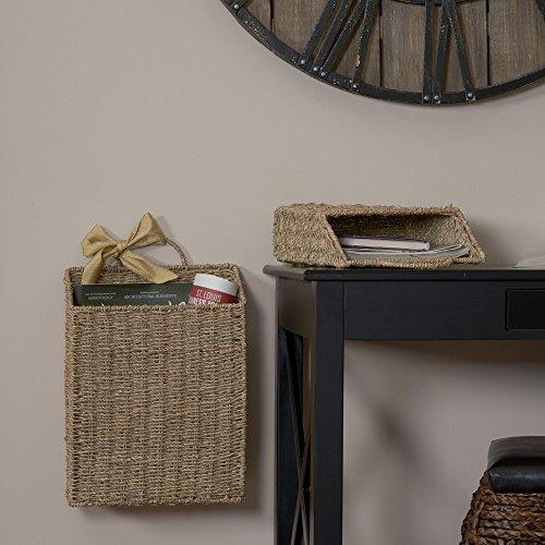 Haushalt Essentials Seegras Wand Korb Set - 5
