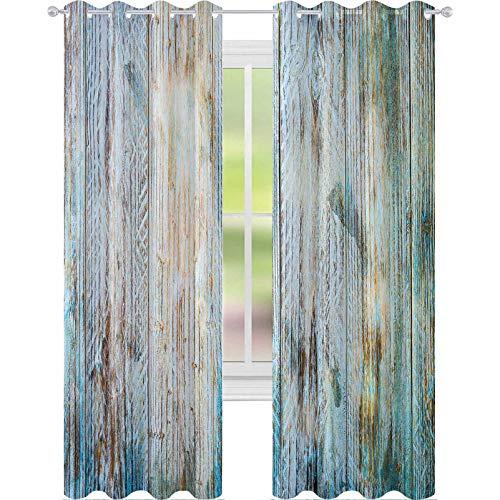 YUAZHOQI - Cortinas para sala de estar (132 x 160 cm)