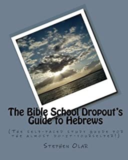 The Bible School Dropout's Guide to Hebrews: (The self-paced study guide for the almost do-it-yourselfer!)