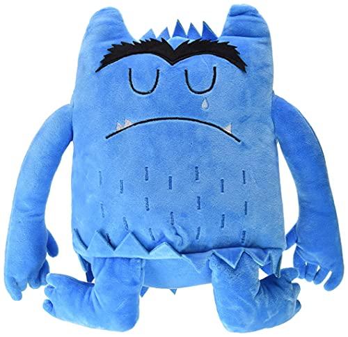 El monstruo de colores. Peluche azul