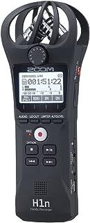 ZOOM ズーム ハンディレコーダー ブラック 90°XY方式のステレオマイク搭載 高音質録音 手のひらサイズ コンパクト【メーカー3年延長保証付】 H1n
