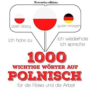 1000 wichtige Wörter auf Polnisch für die Reise und die Arbeit Titelbild