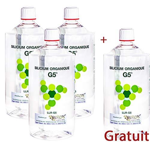 G5 Silicium Pack 3 litres + 1 Gratuit