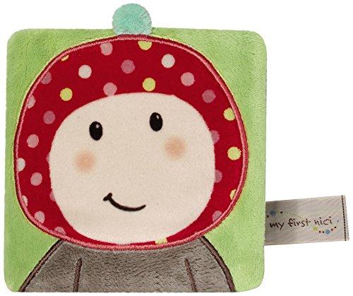 Nici 37438 Maila le champignon-amanite Livre peluche pour bébé
