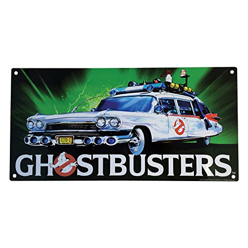 Factory Entertainment Ghostbusters ECTO-1 Metal Sign by Factory Entertainment
