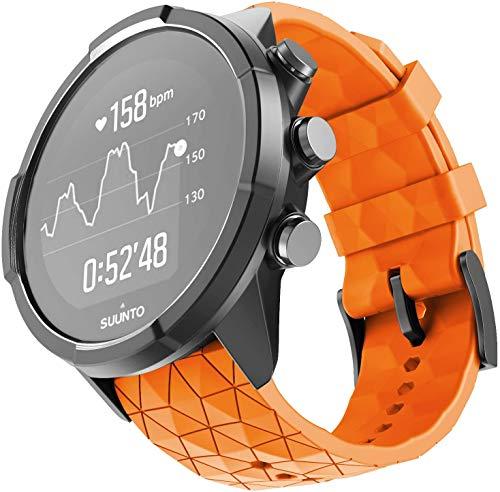 NotoCity Compatible con Correa Suunto 9 Spartan/Titanium/Smart Watch GPS/Suunto Spartan Sport Wrist HR (Naranja)