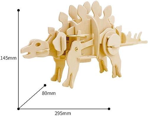 CHEN FU ZHANG Spiny Dragon 3D Holz Puzzle fertig fertig Kinderspielzeug, kreatives Geschenk
