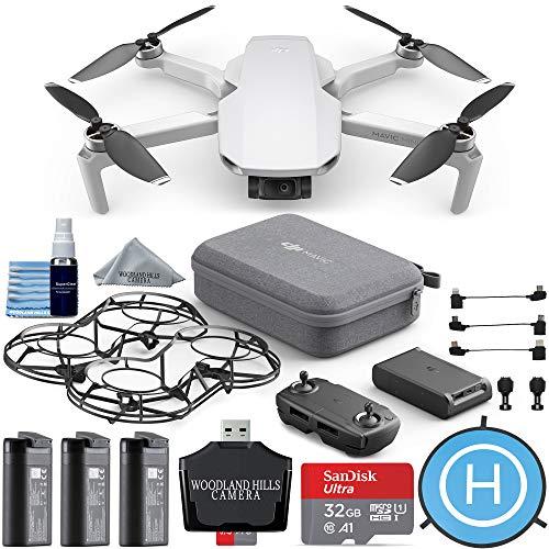 Price comparison product image DJI Mavic Mini Fly More Combo Portable Drone Quadcopter Ultimate Travel Bundle Kit - CP.MA.00000123.01