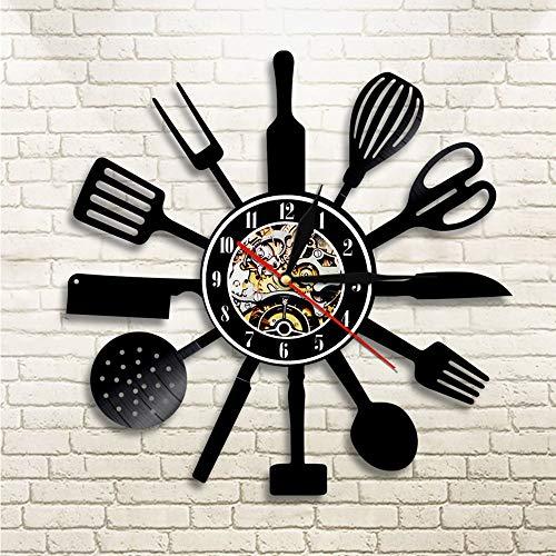 1 Pieza Cuchillo de Cocina Tenedor Cuchara Iluminación Led Juego de Cocina...