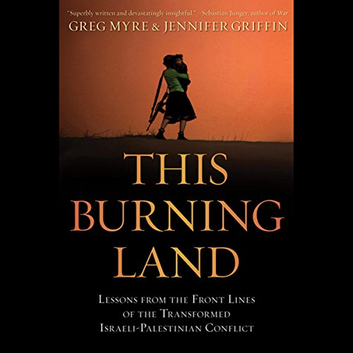 This Burning Land audiobook cover art