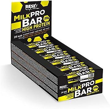 Barrita de proteinas milk pro bar 24ud. 45g. yogur (biscuit ...