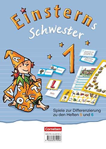 Cornelsen Verlag GmbH Einsterns Schwester - Erstlesen 1. Schuljahr - Spiele zur Differenzierung zu den Heften 5 und 6