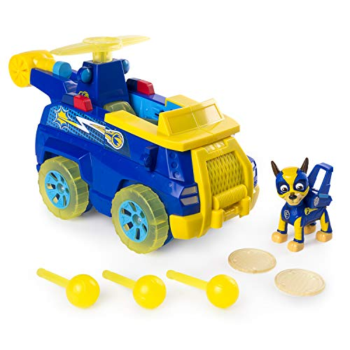 PAW PATROL 6055190 Mighty Pups Flip & Fly Chase, blau