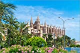 Poster 90 x 60 cm: Mallorca Kathedrale von euregiophoto -