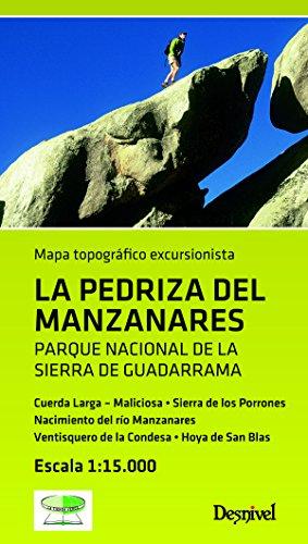 Mapa La Pedriza del Manzanares: Mapa 1:15.000 (Mapa Topografico Excursionista)