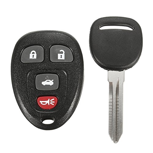 GOZAR Autosleutel los invoer remote fob uncut ontsteking transponder chip sleutel voor Chevrolet