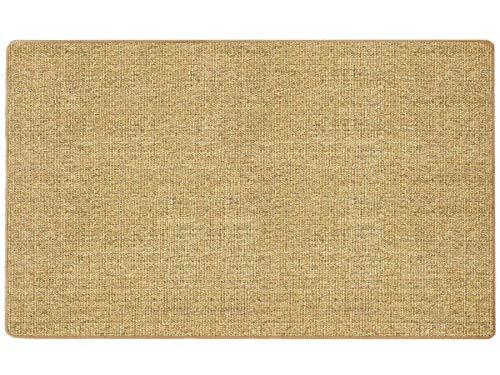 Primaflor - Ideen in Textil Natur Sisal-Teppich SISALLUX - Nuss, 100x200cm, Rutschfester Vorleger, Fußbodenheizung geeignet, Sisal-Matte als Küchen-Läufer