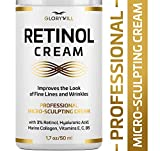 3% Retinol Anti Aging Face Cream - Made in USA - Retinol Moisturizer for Women & Men - Anti Wrinkle...