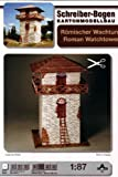 Aue Verlag 8x 8x 13cm Raffrollo Wachturm, Modell-Kit -